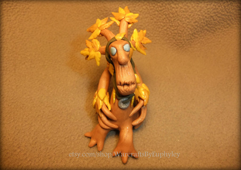 Polymer Clay Resto Druid in Treant Form by Euphyley on DeviantArt
