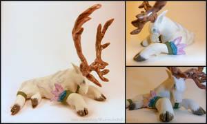 World of Warcraft Inspired Malorne Figurine