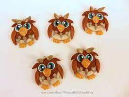 World of Warcraft Inspired Tauren Moonkin Chibis by Euphyley