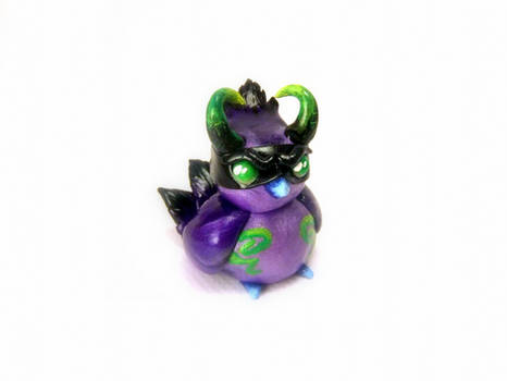 Demon Hunter Pepe Sculpture