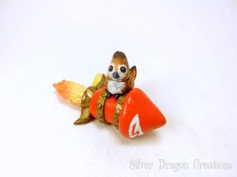 Pepe riding the Wowhead Rocket
