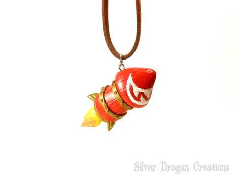 Wowhead Rocket Necklace