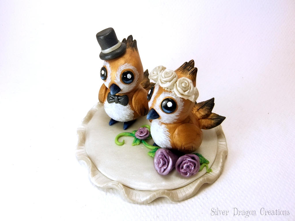 World of Warcraft Pepe Wedding Cake Topper by Euphyley