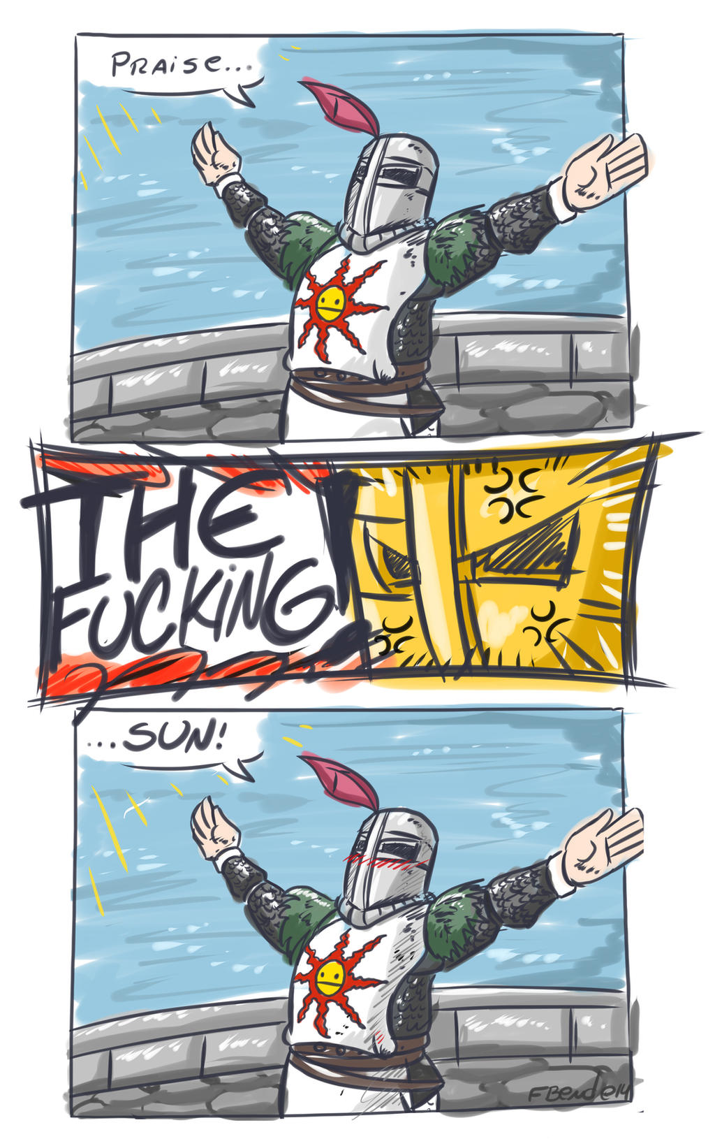 Angry Solaire by GunShad on DeviantArt