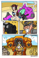 When you are in trouble - Overwatch by GunShad