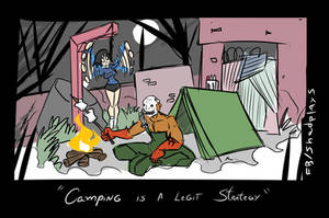 Dead By Daylight Camping by GunShad