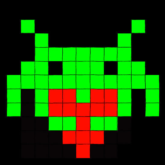 Space Invaders... of Love