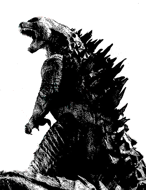 Godzilla 2014: Empire Cover Design by sonichedgehog2