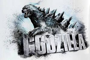 Godzilla 2014: Promotional Add Banner by sonichedgehog2