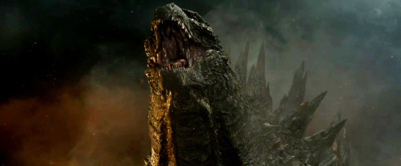 Godzilla 2014: The CGI King. by sonichedgehog2