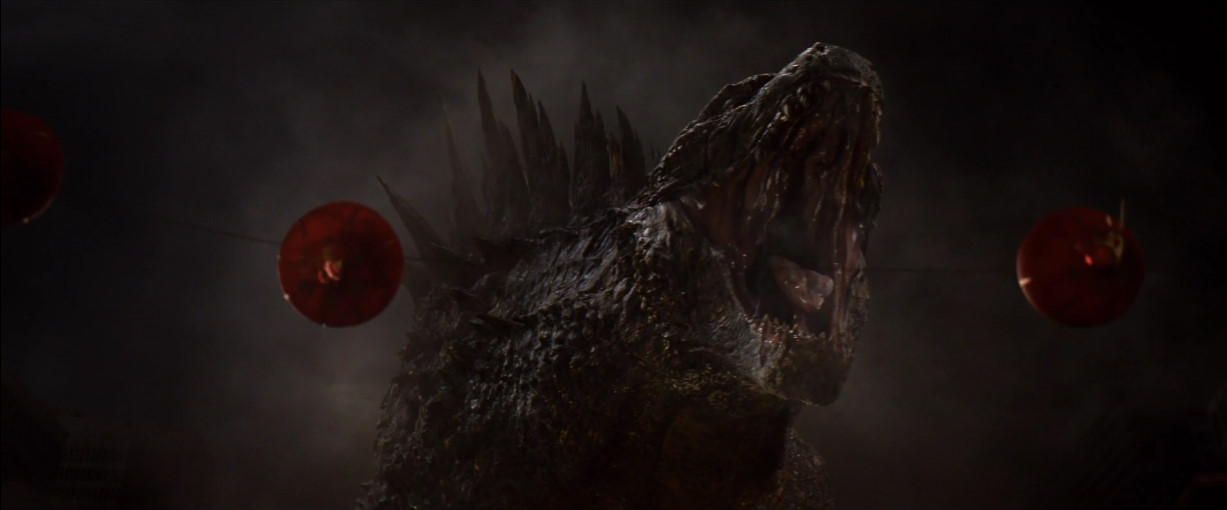 Godzilla 2014: Gojira's Mighty Roar!! by sonichedgehog2