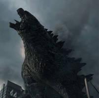 Godzilla 2014:  Nature's Order. by sonichedgehog2