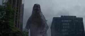 Godzilla 2014:  The King in the Rain