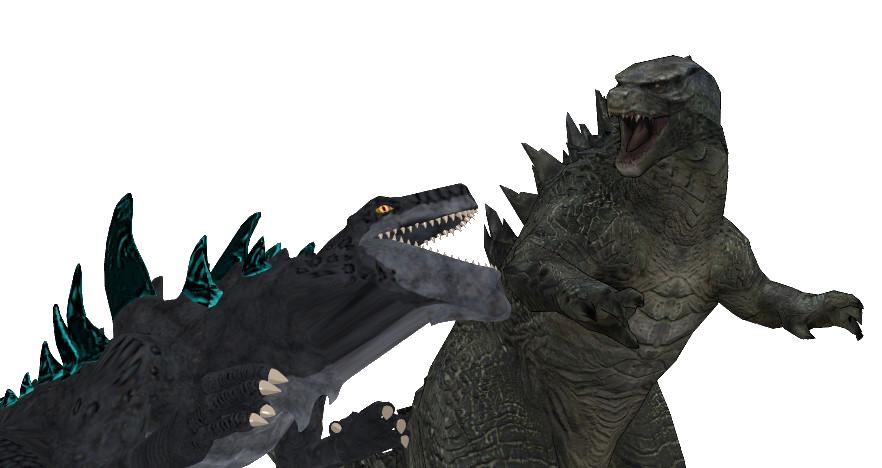 Godzilla 2014 VS Godzilla 1998 aka Zilla by sonichedgehog2 ...