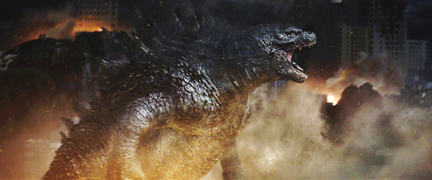 Godzilla 2014: The Alpha Predator. by sonichedgehog2