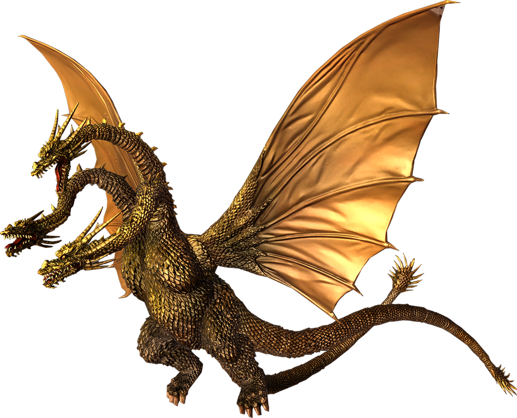 Godzilla The Video Game: King Ghidorah by sonichedgehog2 ...