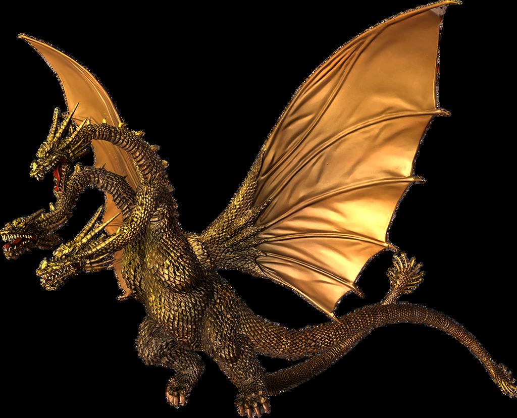 Godzilla The Video Game: King Ghidorah by sonichedgehog2 ...