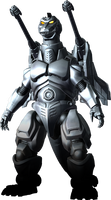 Godzilla The Video Game: Super MechaGodzilla