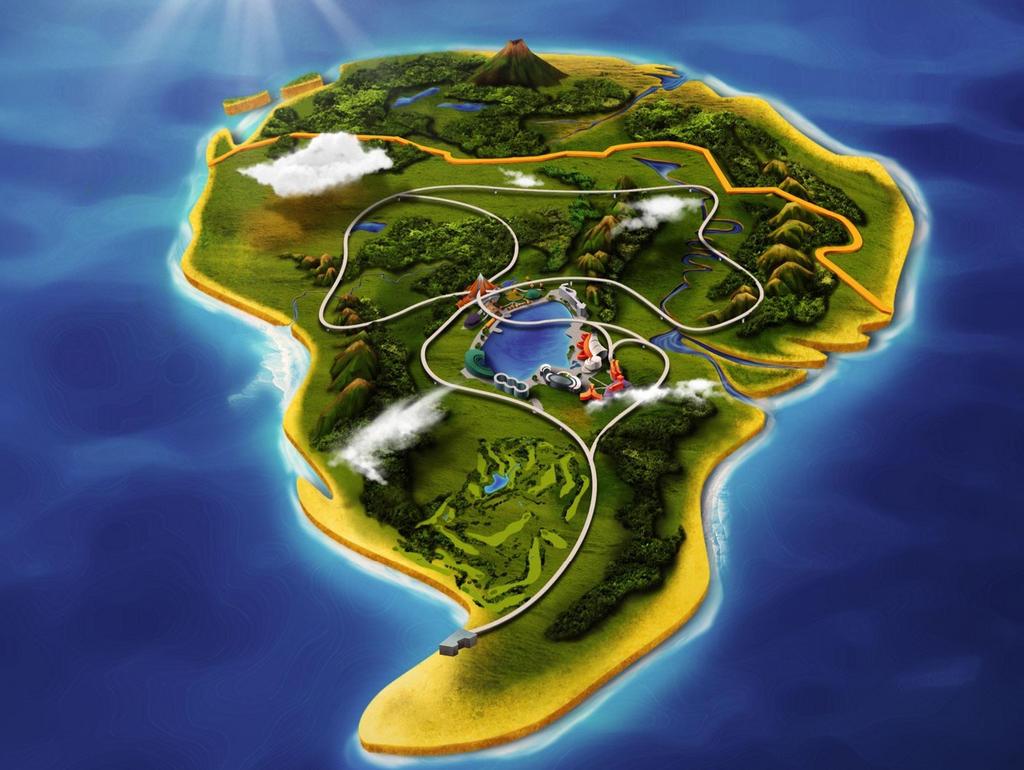 Jurassic World: Park Map by sonichedgehog2 on DeviantArt