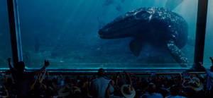 Jurassic World: Mosasaur Underwater Viewing
