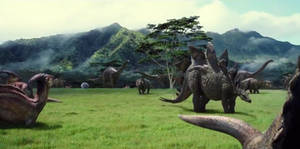 Welcome....to Jurassic World.