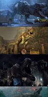 Jurassic Park: Rexy's History