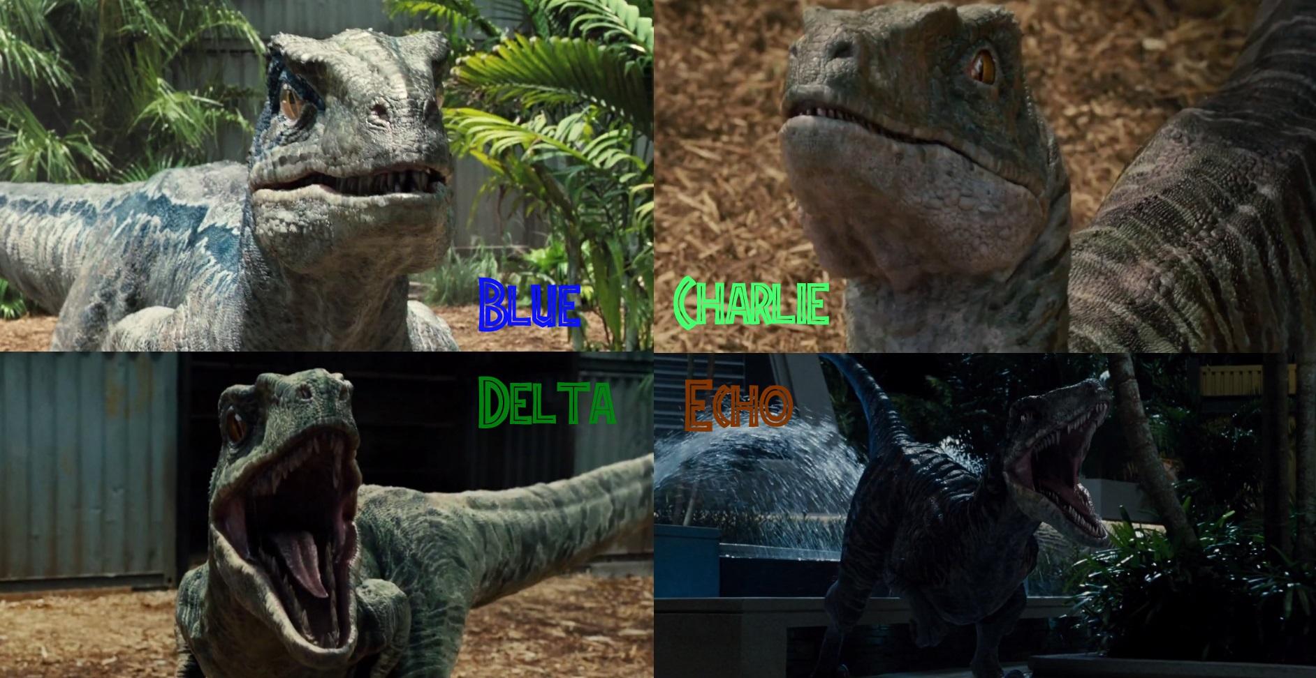 Jurassic World The Raptors By Sonichedgehog2