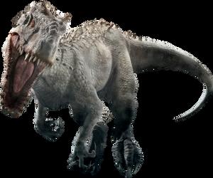 Jurassic World: Indominus Rex V2 by sonichedgehog2