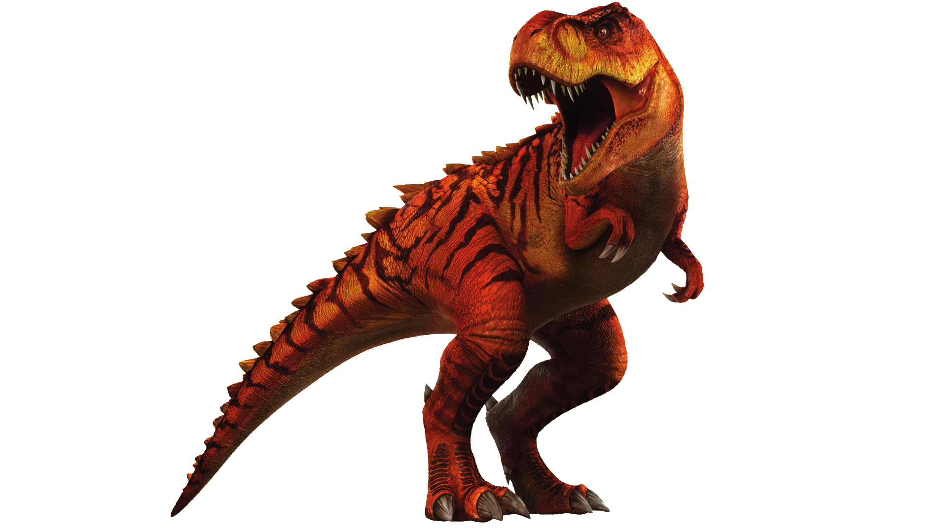 Jurassic world the game hybrid t rex by sonichedgehog2 on for Tyranosaurus rex