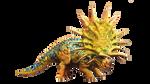 Jurassic World The Game: Hybrid Triceratops