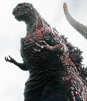 Shin Gojira: The New Godzilla!! by sonichedgehog2