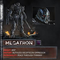 The Last Knight: The New Megatron by sonichedgehog2
