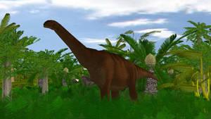 Mesozoic Revolution: Camarasaurus by sonichedgehog2