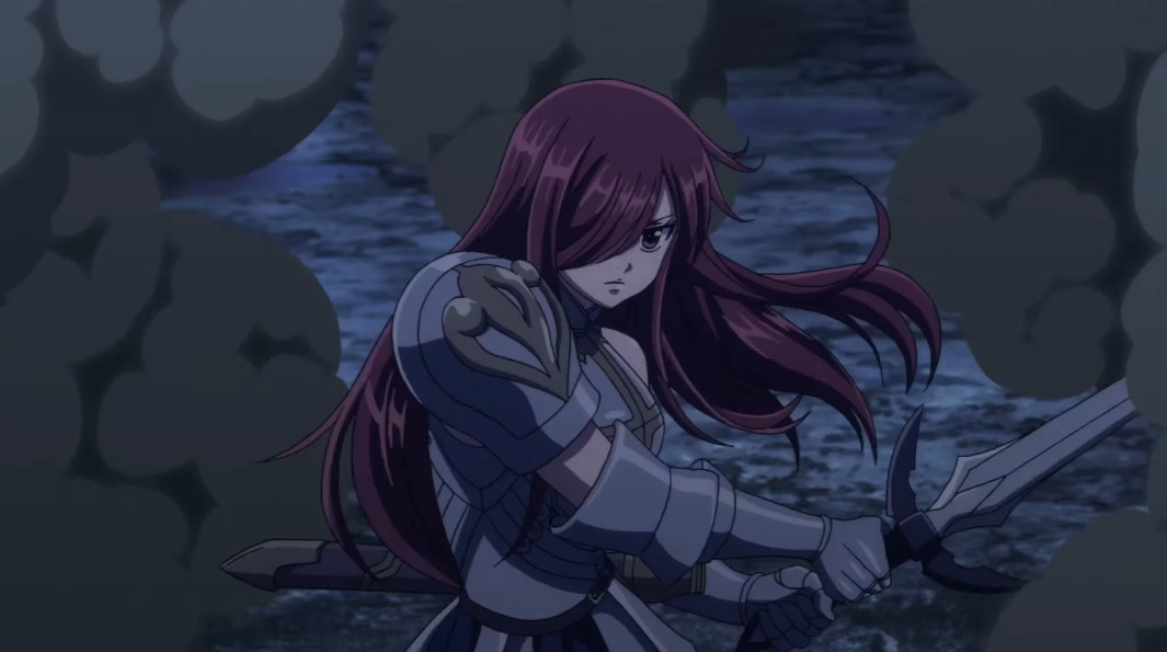 Dragon Cry: Erza Scarlet by sonichedgehog2