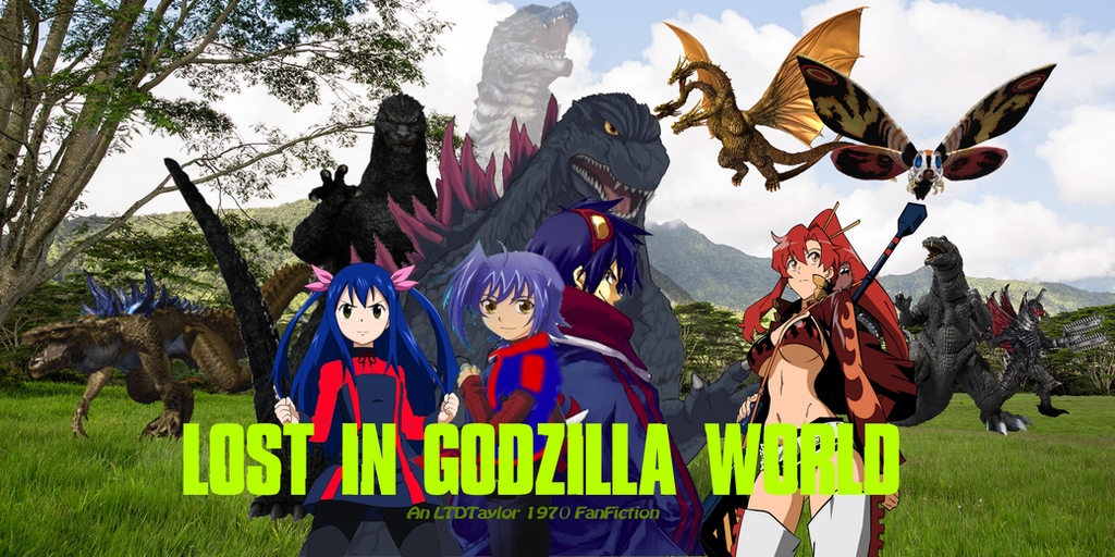 Lost in Godzilla World Poster by sonichedgehog2