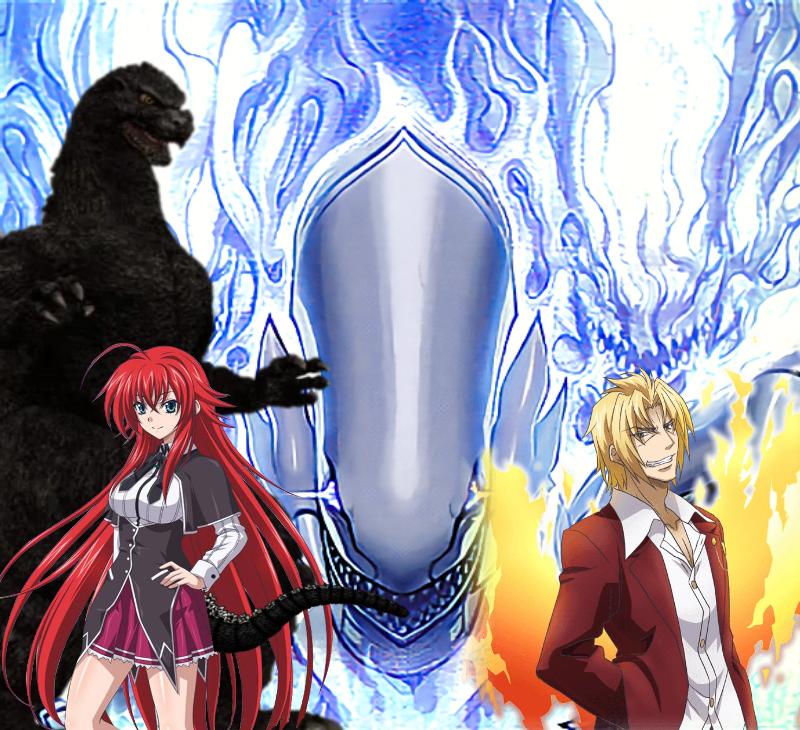 Blue Eyes Vs Riser Phoenix By Sonichedgehog2 On Deviantart
