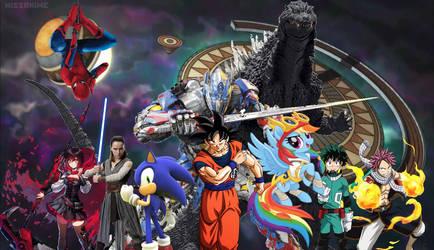 Multiverse Team! (New Tag idea of mine.) by sonichedgehog2
