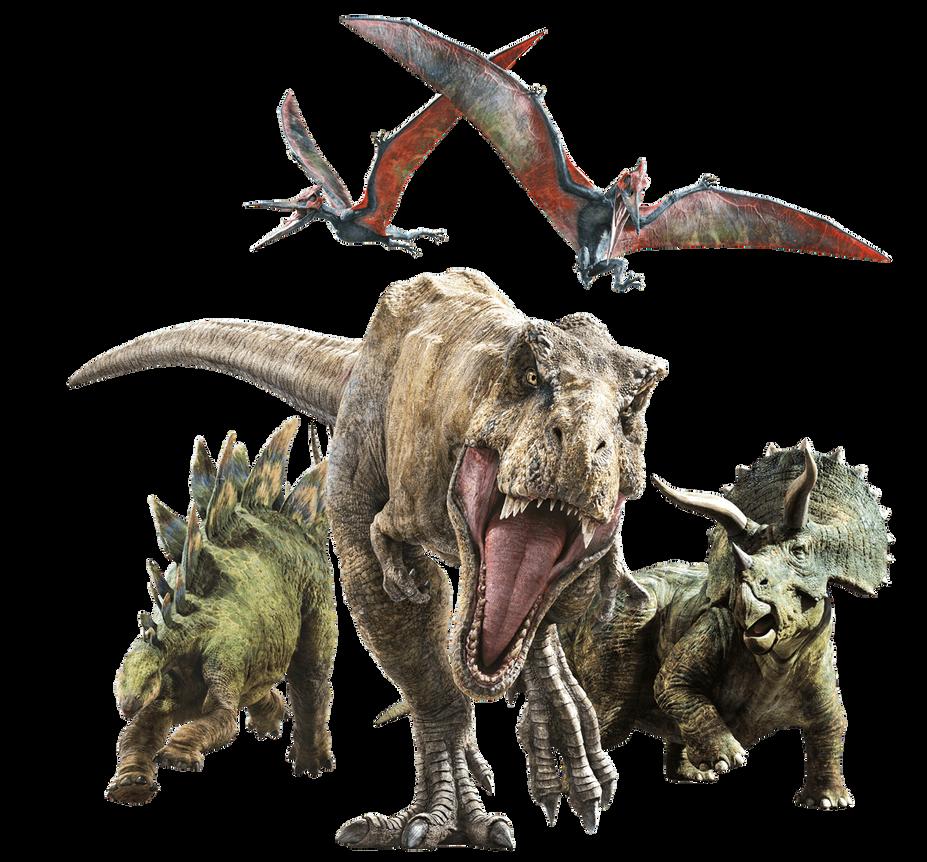 Jurassic World Blue And Rexy Fallen Kingdom Ver By: Jurassic World Fallen Kingdom: Rexy And Her Guards By