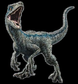 Fallen Kingdom: Blue the Velociraptor V3 by sonichedgehog2