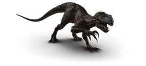 Jurassic World Fallen Kingdom: Indoraptor V2 by sonichedgehog2