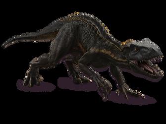 Jurassic World Fallen Kingdom: Indoraptor V3 by sonichedgehog2
