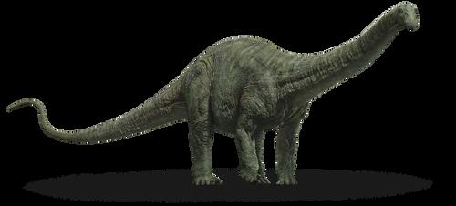 Jurassic World Fallen Kingdom: Apatosaurus V2 by sonichedgehog2