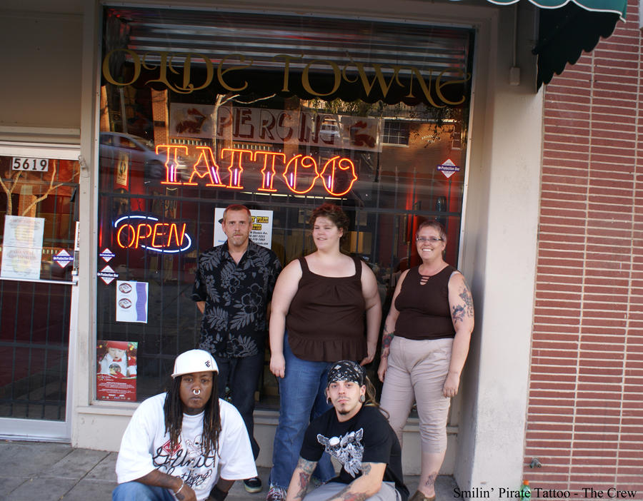 The crew friday the 13th by smilinpiratetattoo on deviantart for Friday the 13th tattoos michigan