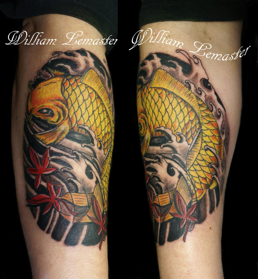 Koi - Dec 2012 - William/Bill by SmilinPirateTattoo