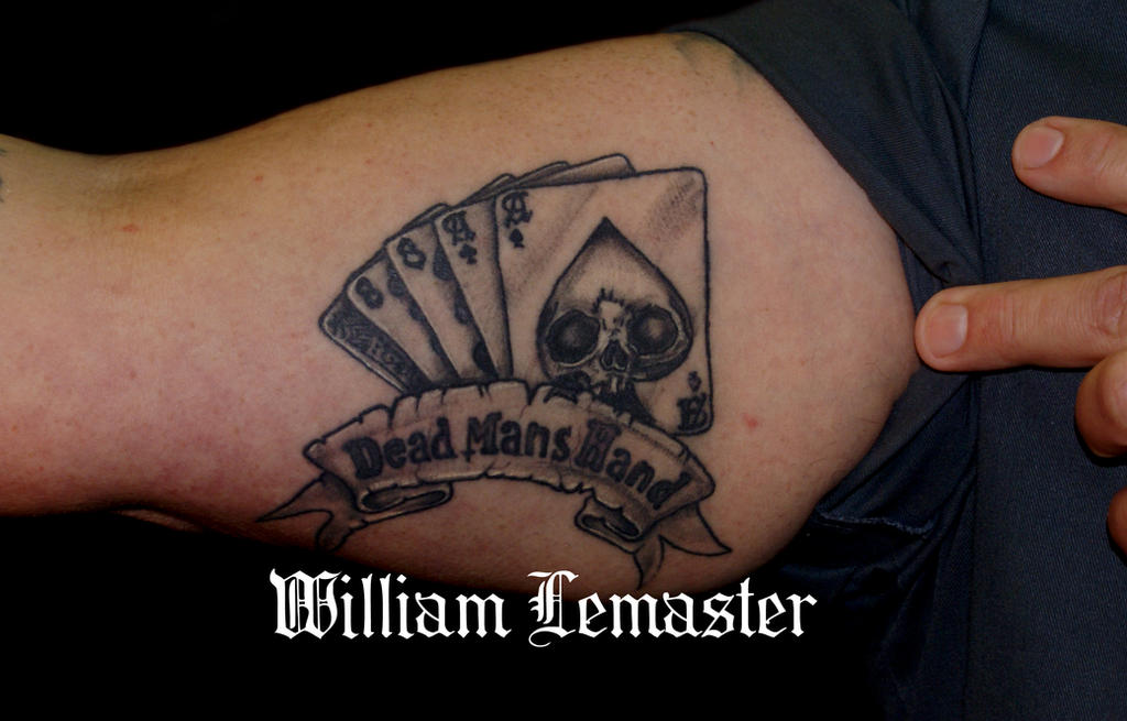 DeviantArt: More Like Dead Man's Hand - Tattoo by Bill by ...