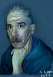 Self Portrait by hodx