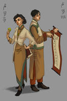 Lutece Twins 2 by FluorineSpark