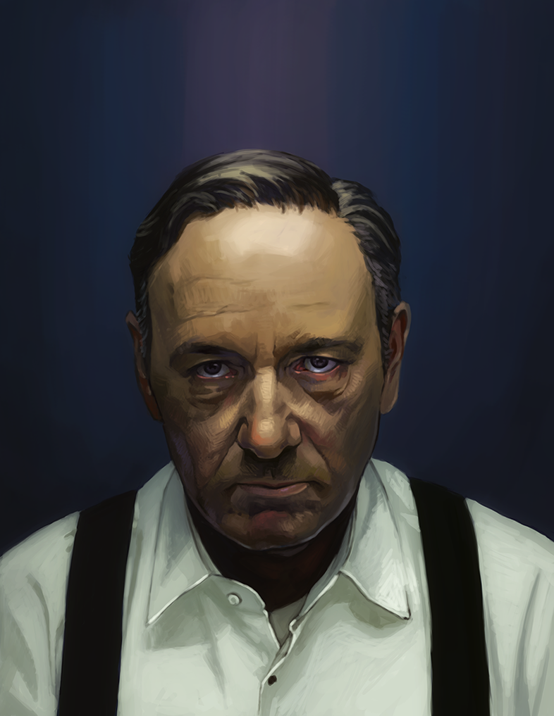Frank Underwood WIP? by FluorineSpark