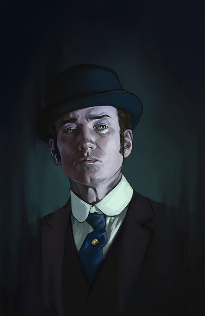 Inspector Reid by FluorineSpark