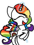 Rainbow Skies Pony OC